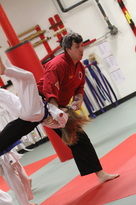 Unity Martial Arts throw and fall